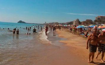 Playa Norte de Peñíscola