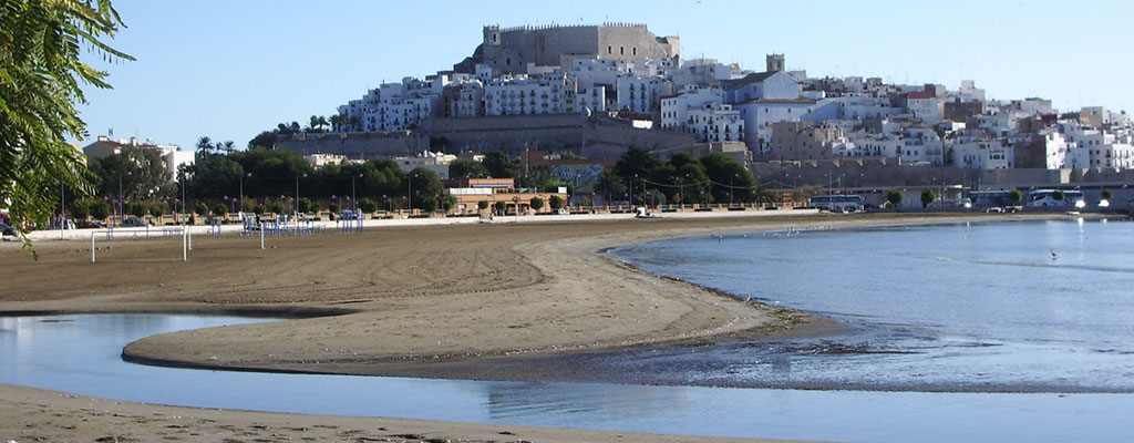Playa Sur de Peñíscola