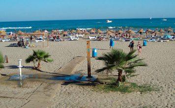 Playa Voramar de Benicàssim