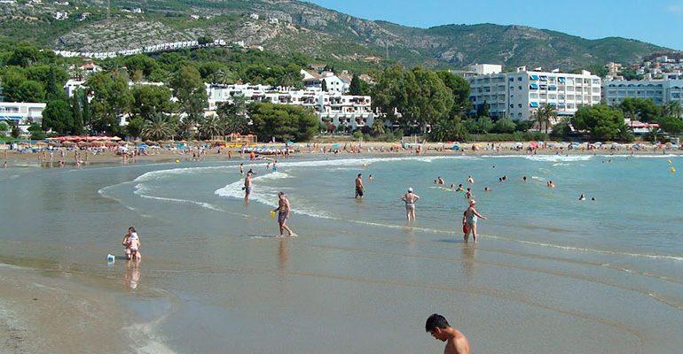Resultado de imagen de playa de las fuentes alcoceber