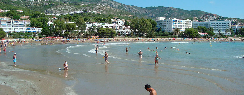 Playa de las Fuentes de Alcossebre