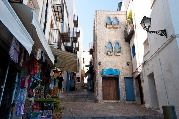 La Casa de las Conchas en Peñíscola