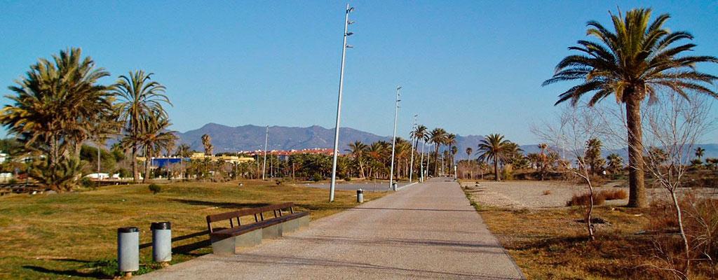 parque del litoral grao castellon