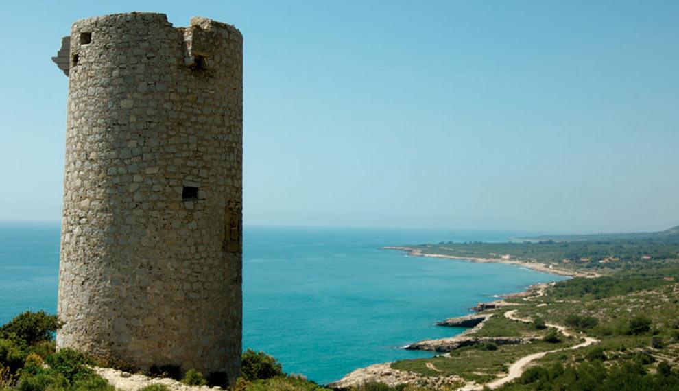 La Torre Badum de Peñíscola, una torre con historia en la Sierra de Irta