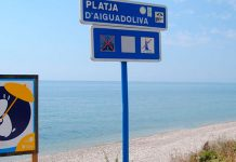 Playa d´Aiguadoliva Vinaroz