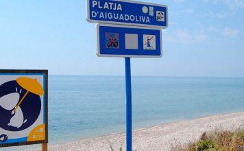 Playa d´Aiguadoliva, Vinaroz