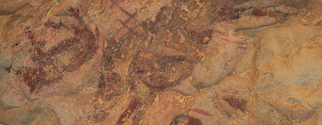 pinturas rupestres en la cueva remigia