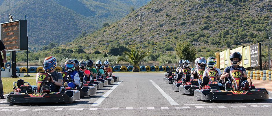 Carrera de Karts en Benicassim - Castellón