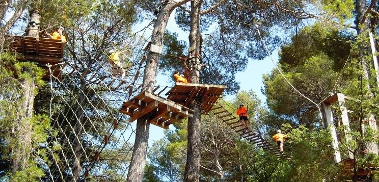 Parque de Aventura Saltapins de Morella