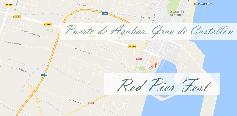 Como llegar al Red Pier Fest