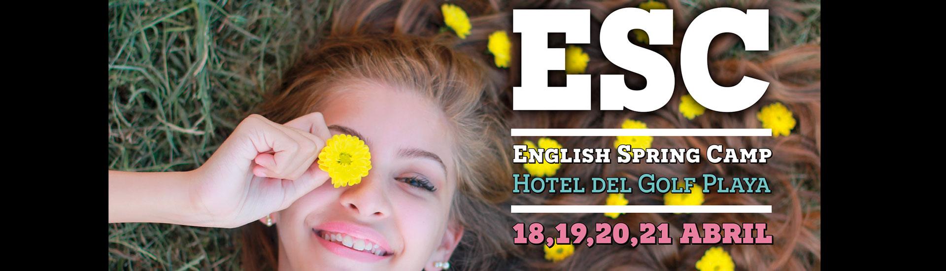 Campamento ingles – English Spring Camp – Hotel del Golf Playa
