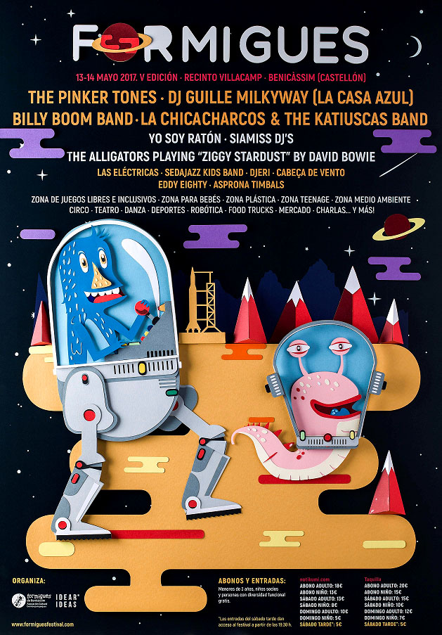 Cartel Formigues Festival