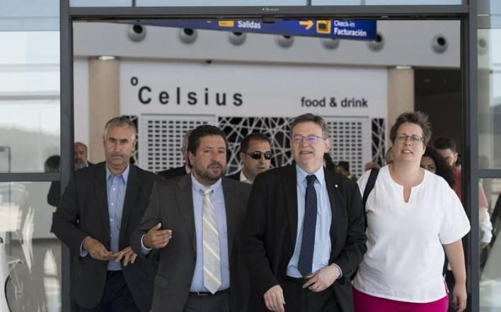 Aeropuerto de Castellón ¿conexión Madrid y Barcelona?