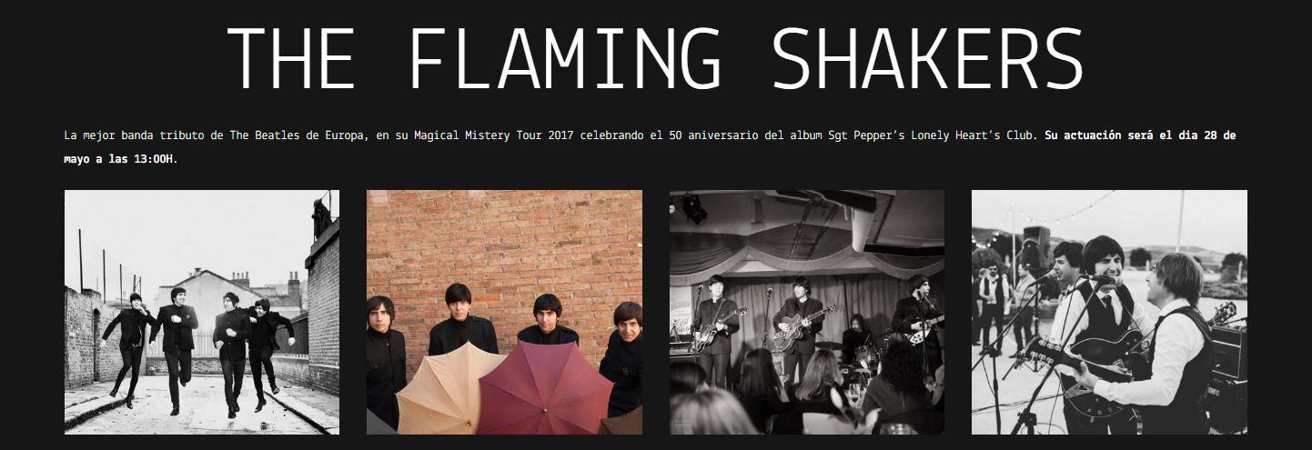 The Flaming Shakers en Castellón junto al Red Pier Fest