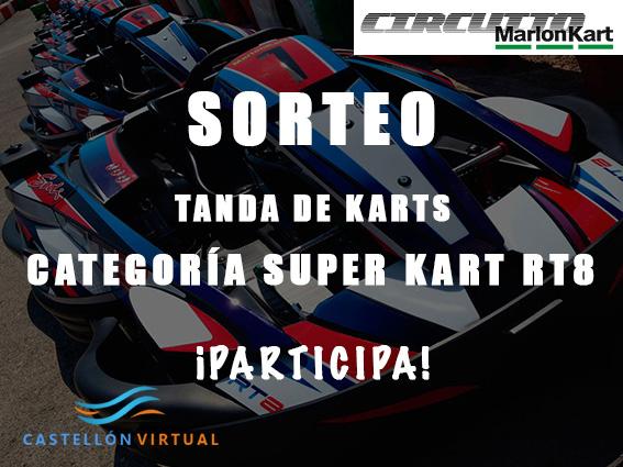 Sorteo tanda de karts categoría Super Kart RT8