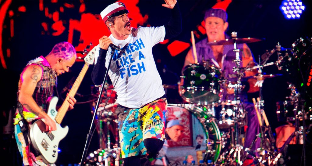 red hot chili peppers fib 2017
