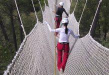Parque de Aventura Saltapins en Morella