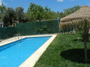 casa rural la solera piscina
