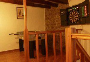 Casa Rural con sala de juegos