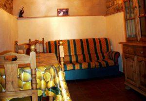 Casa rural con salón