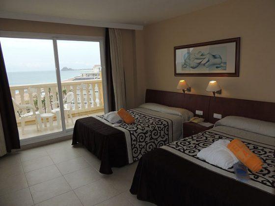 Gran hotel Peñiscola habitacion
