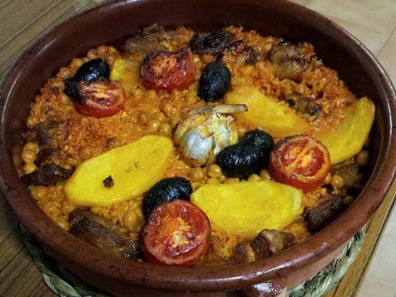 Restaurante Ronda 22 Castellon arroz