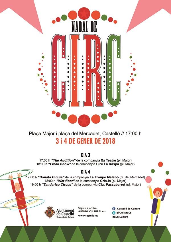 Nadal de Circ 2018