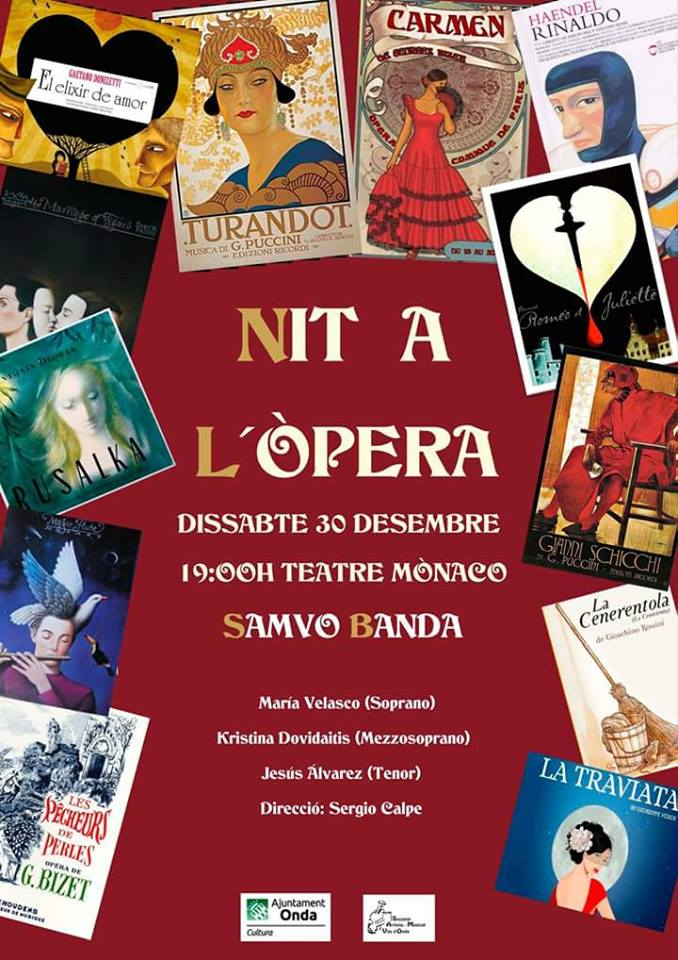 Una Nit a l'Òpera, concierto de fin de año de la SAMVO