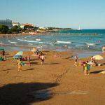 Playa de las fuentes de alcocebre
