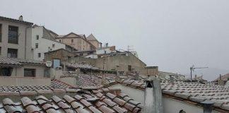 Nieve en la comarca Els Ports
