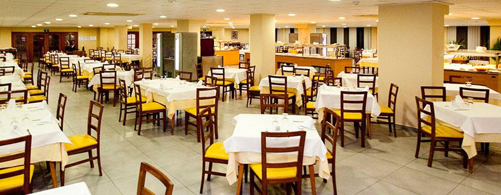 restaurante hotel del golf playa