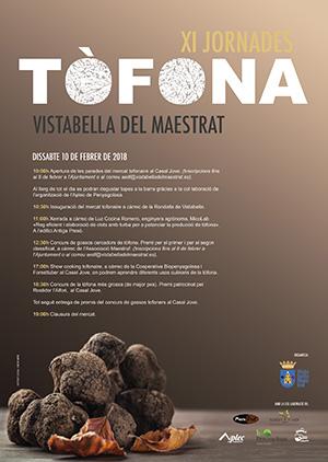 XI Jornades de la Tófona 2018 en Vistabella del Maestrat
