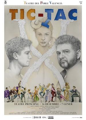 'Tic Tac', de Teatre del Poble Valencià, en el Teatro Principal de Castellón