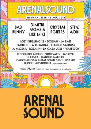 Fechas del Arenal Sound 2018