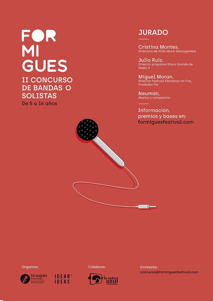 II Concurso de Bandas o solistas del Formigues Festival 2018
