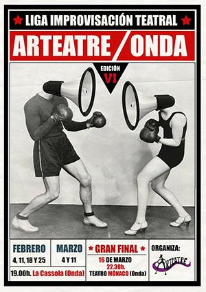 VI Liga de Improvisación Teatral Arteatre en Onda