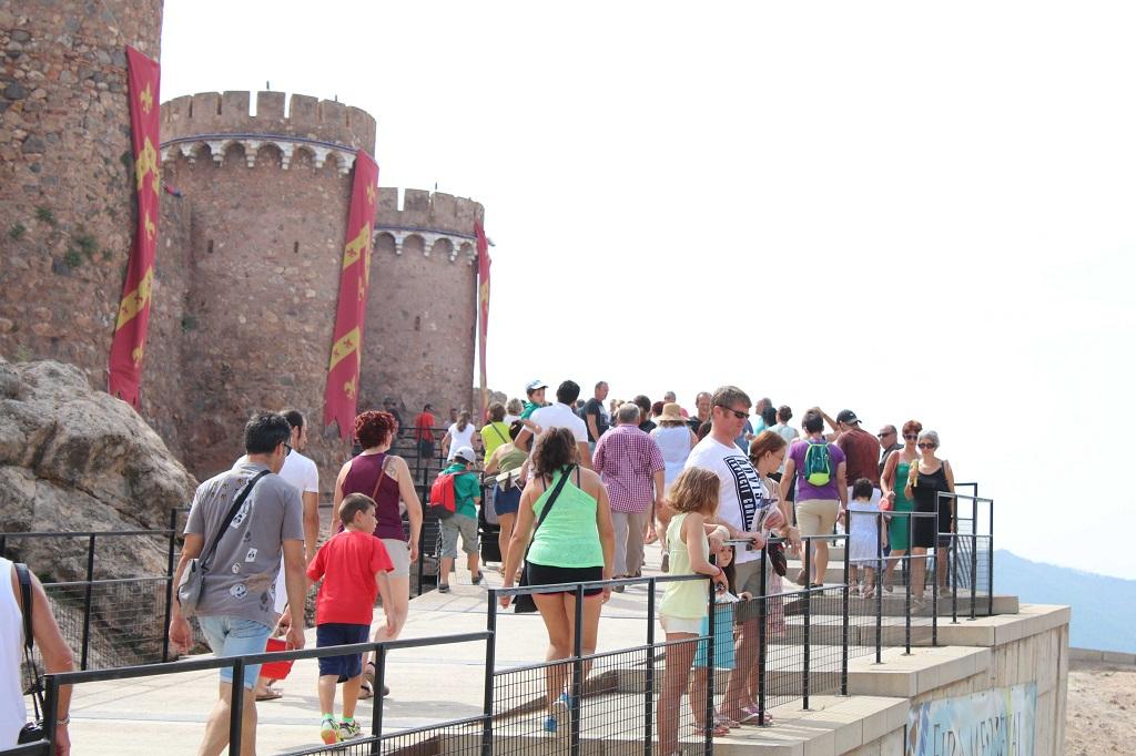 El Castillo de Onda recibe cerca de 48.000 visitas durante el 2017