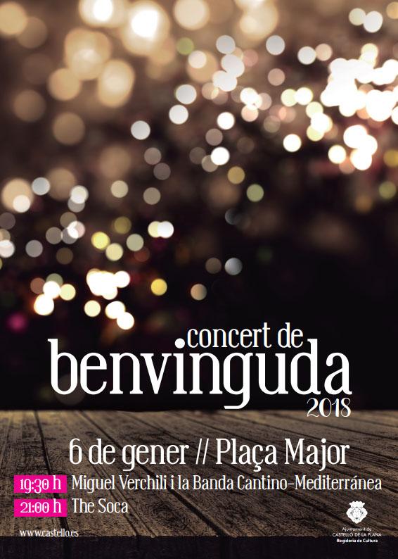 Concert de Benvinguda al 2018