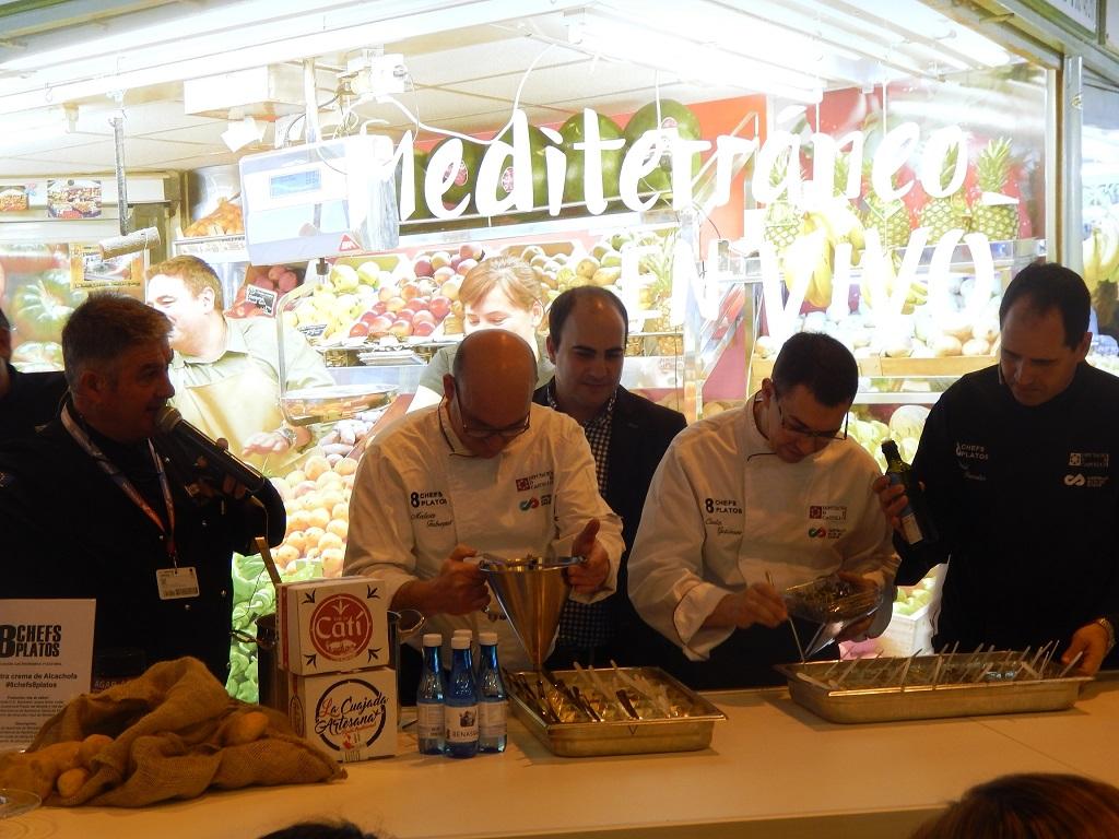 Los productos de Castellón y el talento de sus chefs en FITUR 2018