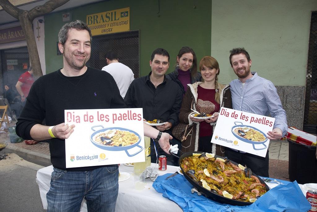 Benicàssim distribuirá el lunes los 2000 números para el Día de las Paellas