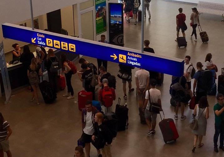 El aeropuerto de Castellón comienza su horario de verano con la recuperación de rutas