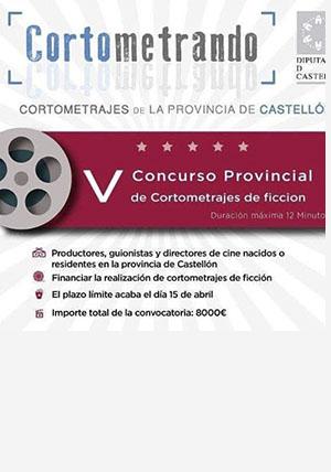 V Gala Cortometrando en el Auditori de Castelló