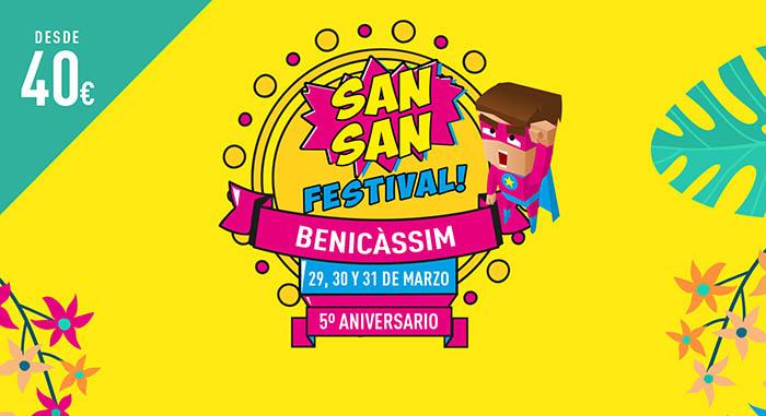 Nuevas confirmaciones para el SanSan Festival 2018