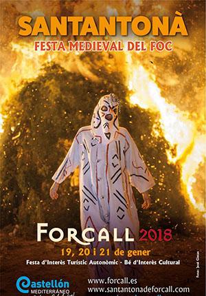 Santantonà 2018 en Forcall