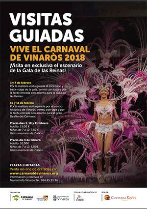 Visitas guiadas al Carnaval de Vinaròs