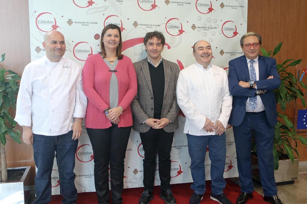 Cocina Castellón reúne a quince chefs con Estrella Michelín en la capital de La Plana