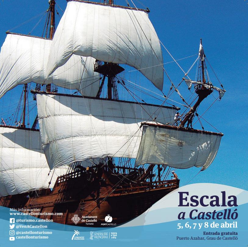 Estos son los barcos que participarán en Escala a Castelló