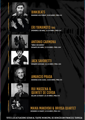 Jazz + altres musiques en Benicàsim