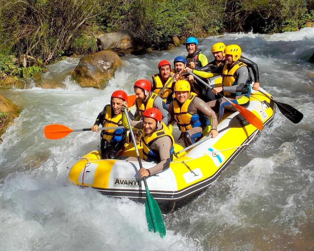 Rafting en Castellón, una aventura en el río Mijares