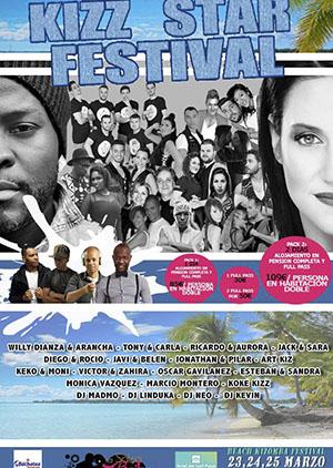 Kizz Star Festival en el Hotel del Golf Playa